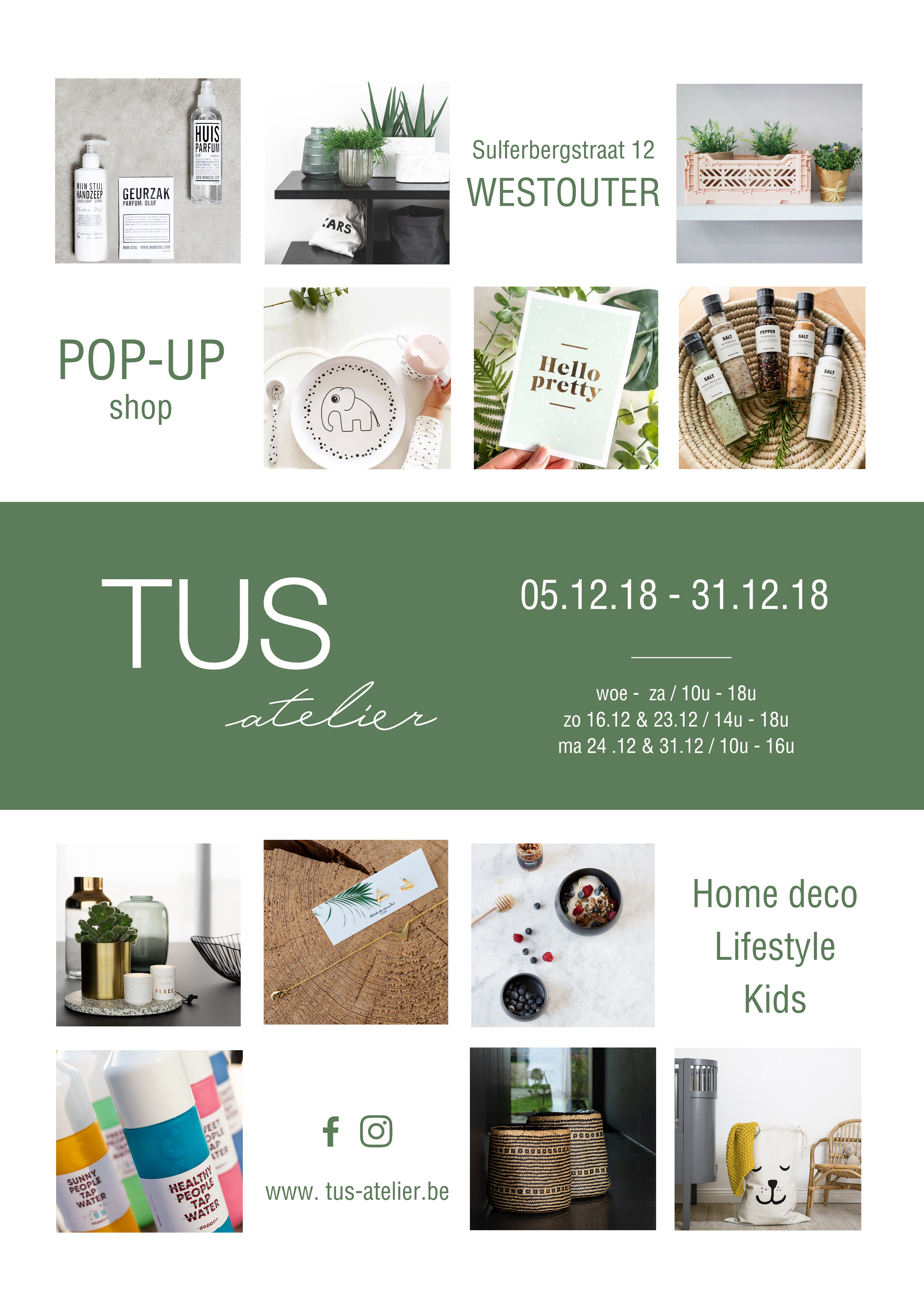 TUS atelier pop-up te Westouter